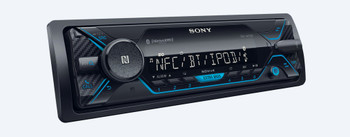 Sony DSX-A415BT Media receiver with Bluetooth Wireless Technology, 10-Band EQ, FLAC, Extrabass