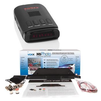 K40 RD950 Portable Radar/Laser Detector & Voxx NoPhoto NP1