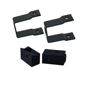 "Wet Sounds Stealth Mounting Bracket Kit - Slider bracket and Square 1"" Tube clamp"