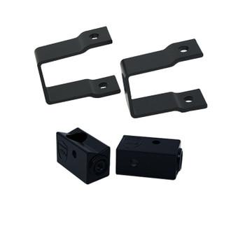 "Wet Sounds Stealth Mounting Bracket Kit - Slider bracket and Square 1"" Tube clamp"