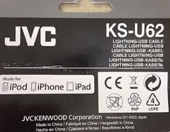 JVC KSU62 USB to Lightning Cable for iPhone/iPod