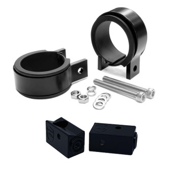 "Wet Sounds Stealth Mounting Bracket Kit - Slider bracket and Round 2"" Tube clamp"