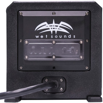"Wet Sounds Package - White Stealth 10 Ultra HD Sound Bar w/ Remote and AS-6 6"" 250 Watt Powered Stealth Subwoofer"