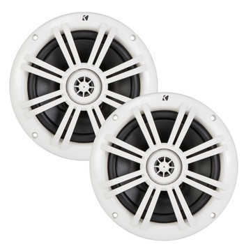 Kicker 6.5 Inch KM-Series Marine Speakers 41KM604W (Pair)