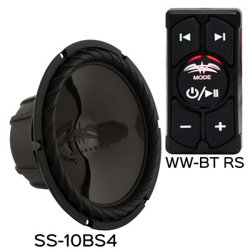 Wet Sounds & SSV Works For Polaris RZR 2014+ XP1000 5-Speaker System Package. Subwoofer Will Not Fit Turbo Models.