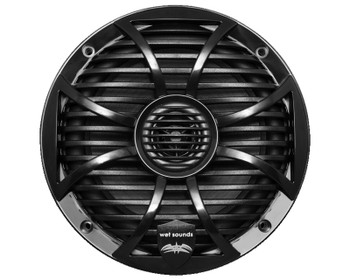 "Wet Sounds Bundle: Two pairs of SW-65i Series Black Grill 6.5"" Speakers. 60 Watts RMS Each"