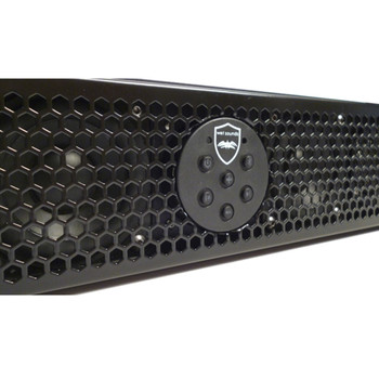 """Wet Sounds Package - One Stealth 10 Ultra HD, One Stealth 6 Surge Amplified Soundbar & 1.75"""" Pipe Mounting Hardware"""