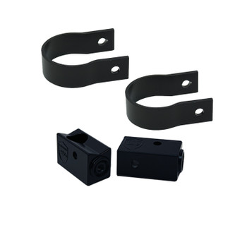 "Wet Sounds Stealth Mounting Bracket Kit - Slider bracket and Round 1.75"" Tube clamp"
