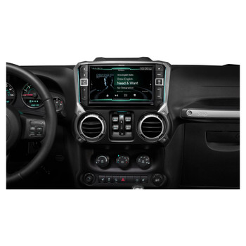 Alpine X209-WRA 9-Inch All-weather Restyle Dash System for Jeep Wrangler (2011-2018 JK)