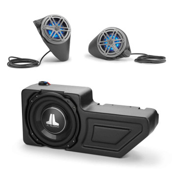 JL Audio Stealthbox® System for 2016+ Polaris General, SB-POL-GNRLSPKR/MX650 & SB-POL-GNRL/10TW3