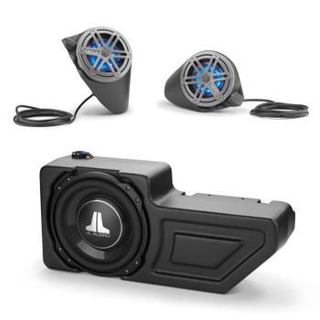 JL Audio Stealthbox® System for 2016+ Polaris General, SB-POL-GNRLSPKR/MX650 & SB-POL-GNRL/10TW3