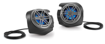 JL Audio SB-POL-RZG2SPKR/MX650 Speaker Subwoofer & Amp bundle for 14-Up RZR 900XC, RZR 4 900, RZR XP 4 1000,RZR XP 1000