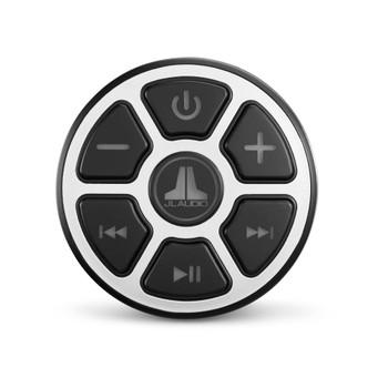 "JL Audio HX280/4 Amp,MBT-CRX Bluetooth Receiver with Kicker KMTES speaker enclosure and OEM 6.5"" Kicker Marine Speakers"