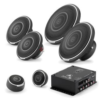 "JL Audio C7 3-Way Active Component Set (6.5"", 3.5"" & Tweeter) With TwK-88 Digital Signal Processor"
