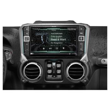 "Alpine Restyle X209-WRA 9"" GPS, Radio, HCE-TCAM1-WRA Spare Tire Rear View Camera & Accessory Controller"