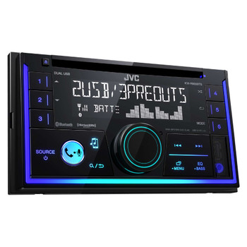 JVC KW-R935BTS Double DIN Bluetooth In-Dash Car Stereo, SiriusXM Tuner Included