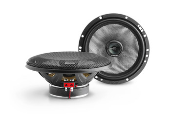 """Focal 165AC 6.5"""" Speakers For Harley Davidson 1998-2013 Batwing/Sharkwing Fairings (Adapters included)"""