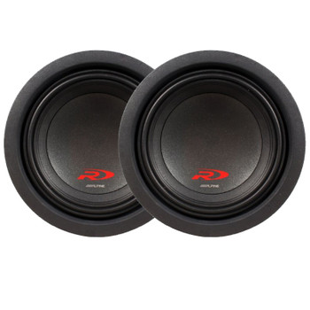"Alpine SWR-8D2 8"" Subwoofer Bundle"