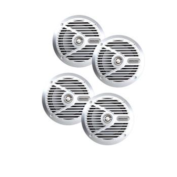 "Alpine SPS-M601 6-1/2""  Marine Coaxial 2-Way Marine Speaker Bundle"