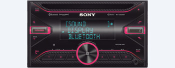 Sony WX-GS920BH High-Power Receiver with Bluetooth with Sirius XM tuner and steering wheel control interface bundle