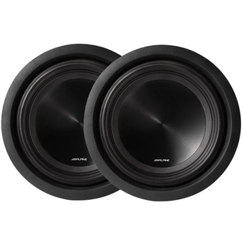 "Alpine SWT-10S2 10"" Subwoofer Bundle"