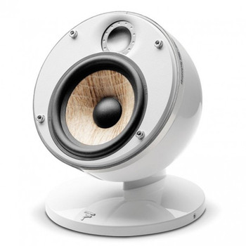 Focal Dome Pack 2.0 Flax 2-Way Compact Sealed Satellite Speaker (White, Pair)