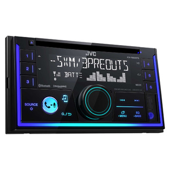 JVC KW-R930BTS Double DIN Bluetooth In-Dash Car Stereo, SiriusXM Tuner Included
