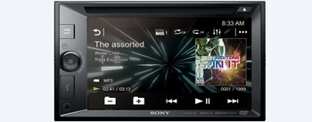 Sony XAV-W651BT CD/DVD Receiver with Bluetooth, Steering Wheel Control Interface and Back Up Camera