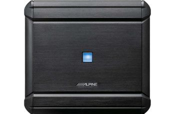 Alpine MRV-V500 5-Channel Amplifier with Alpine PXA-H800 Sound Processor and RUX-C800 Remote Controller