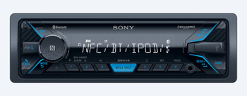 Sony DSX-A405BT Receiver with Bluetooth and Sirius XM tuner and Steering Wheel Control Interface bundle