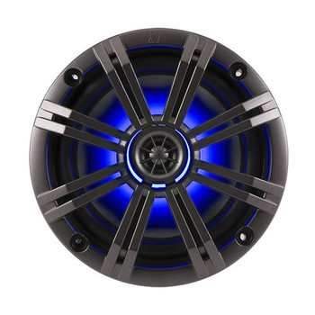 """Kicker OEM Replacement Charcoal 6.5"""" 4-Ohm Coaxial Marine Speakers (Pair)"""