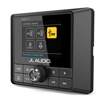 JL Audio MMR-40 Full-function, NMEA 2000 network wired remote controller with full color LCD display