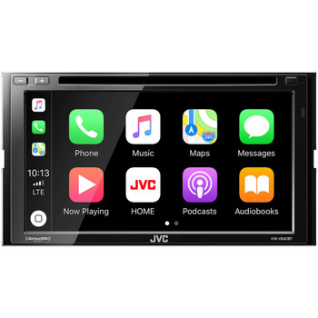 JVC KW-V840BT compatible with Android Auto / CarPlay CD/DVD with Sirius XM,  Back up camera, Steering Interface