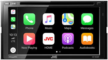 JVC KW-V840BT compatible with Android Auto / CarPlay CD/DVD with Sirius XM SXV300 tuner included