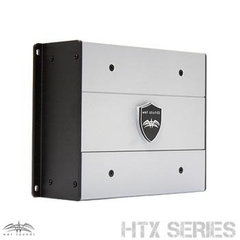 Wet Sounds HTX4 Package: 600 watt 4-channel amplifier & Stinger 7-Meter 4-Gauge Amplifier Wiring Kit w/ RCAs