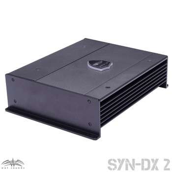 Wet Sounds SYN-DX 2 Full Range Class D Amplifier & Stinger 7-Meter 4-Gauge Amplifier Wiring Kit w/ RCAs