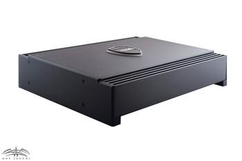Wet Sounds Sinister SDX4 4-Channel Amplifier & Stinger 3-Meter 4-Gauge Amplifier Wiring Kit w/ RCAs