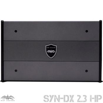 Wet Sounds SYN-DX-2.3HP SYN-DX Series Marine Amplifier & Stinger 3-Meter 4-Gauge Amplifier Wiring Kit w/ RCAs