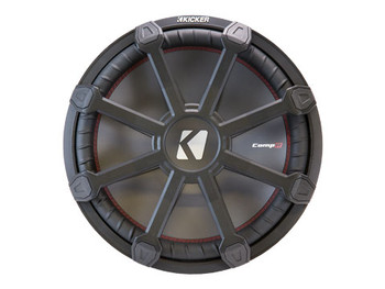 """Kicker 43CWR15G 15"""" Grille made for Kicker CompR Subwoofers"""