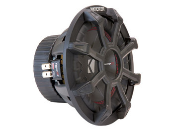 """Kicker 43CWR8G 8"""" Grille made for Kicker CompR Subwoofers."""