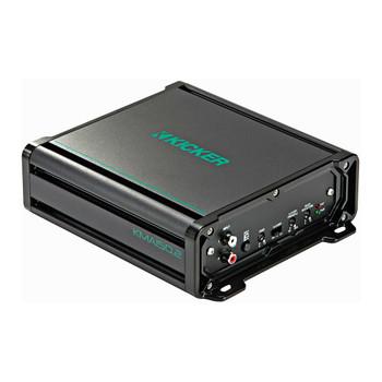 "Marine Speaker Bundle - 1 Pair Wet Sounds Sw-65ic-B Black 6.5"" Speakers & Kicker Kma150.2 2-Channel Marine Amplifier"