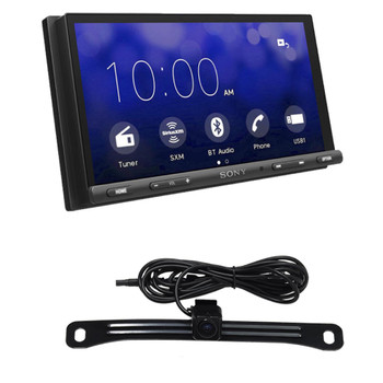 Sony XAV-AX5000 compatible with CarPlay & Android Auto receiver + Rear View Camera
