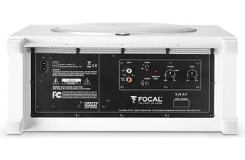 Focal Sub Air Flat Bass Reflex Subwoofer w/ Integrated 150W BASH Amplifier White