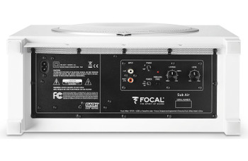 Focal Sub Air Flat Bass Reflex Subwoofer w/ Integrated 150W BASH Amplifier White