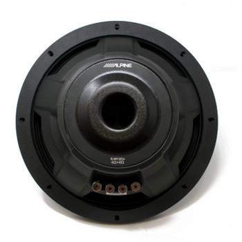 """Alpine S-W12D4 S-Series 12"""" Dual 4-Ohm Subwoofer"""