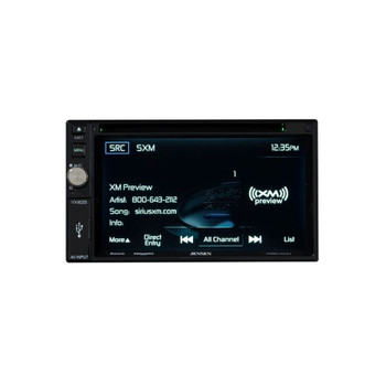 Jensen VX4025 Refurbished A/V Receiver w/ DVD, Bluetooth, and includes SiriusXm SXV300 Tuner