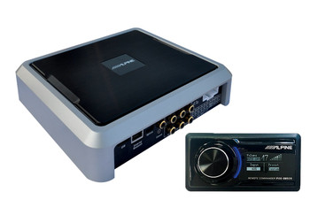 Alpine PXE-08505 Advanced Wireless Digital Sound Processor