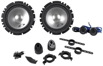 "Two pairs of Alpine SXE-1750S Type-E 6.5"" Component speakers"