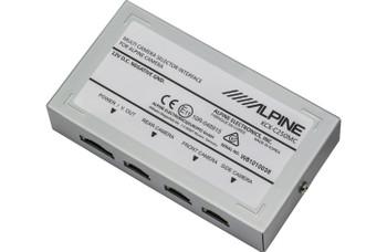 Alpine KCX-C250MC Multi Camera Selector Interface