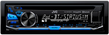 JVC Refurbished KD-R875BTS CD Receiver with Bluetooth and Front USB/AUX Input